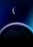Spazio cosmico Fotografia Stock Libera da Diritti