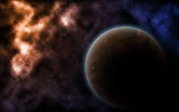 Spazio cosmico e nebulosa Fotografia Stock Libera da Diritti