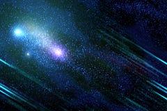 Spazio cosmico profondo Immagini Stock Libere da Diritti