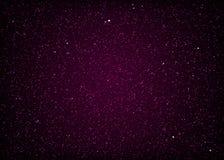 Spazio cosmico stellato porpora brillante royalty illustrazione gratis