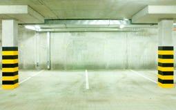 Spazio del garage Fotografia Stock