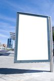 Spazio dell'annuncio Fotografia Stock Libera da Diritti