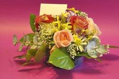 Spazio dell'annuncio, fiori Fotografia Stock