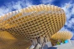 Spazio dell'interno quadrato moderno Metropol in Siviglia, Spagna Fotografia Stock Libera da Diritti