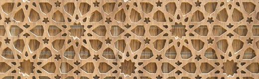 Spazio della copia: mattonelle della grata sul fondo di legno della quercia Struttura fotografia stock