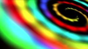 spazio della galassia dell'arcobaleno 4k, universo di vortice di turbinio, Via Lattea, tunnel di tempo del buco del verme archivi video