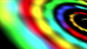 spazio della galassia dell'arcobaleno 4k, universo di vortice di turbinio, Via Lattea, tunnel di tempo del buco del verme stock footage