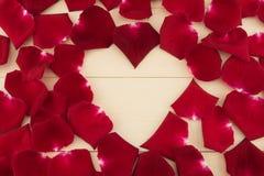 Spazio di forma del cuore Fotografie Stock