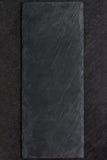 Spazio di pietra scuro della copia del piatto Immagine Stock Libera da Diritti