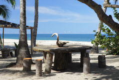 Spazio di sosta lungo i Caraibi Fotografie Stock Libere da Diritti