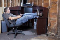 Spazio di ufficio del preventivo di recessione fotografia stock