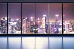 Spazio di ufficio vuoto Fotografie Stock