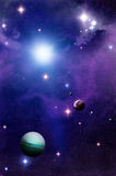 Spazio e pianeti Fotografie Stock