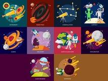 Spazio ed universo Fotografia Stock