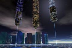 Spazio Elevator3 illustrazione vettoriale