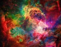 Spazio galattico illustrazione di stock