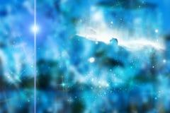 Spazio intergalattico. Fotografie Stock Libere da Diritti