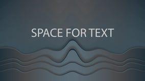 Spazio per testo a grande schermo Immagini Stock