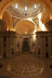 Spazio principale della nave del panteon nazionale a Lisbona Fotografie Stock