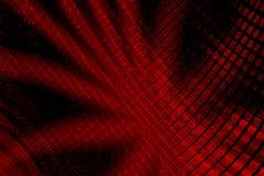Spazio rosso astratto Fotografie Stock