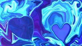 Spazio scuro del fondo astratto variopinto, universo Immagine Stock Libera da Diritti