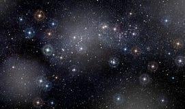 Spazio stellato Immagini Stock