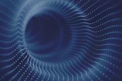 Spazio-tempo del buco del verme di Einstein Fotografia Stock