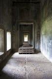 Spazio vuoto Mystical a Angkor Wat fotografia stock