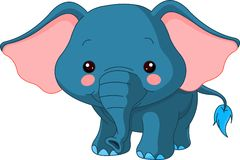 Spaßzoo. Elefant Stockfotos