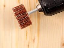 Spazzola abrasiva Fotografia Stock