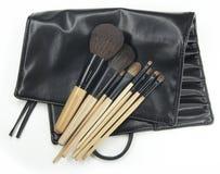 Spazzola cosmetica Fotografie Stock