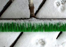 Spazzola della neve Fotografia Stock Libera da Diritti