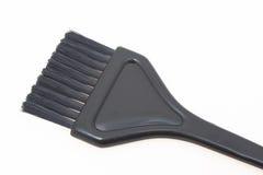 Spazzola della tintura di capelli fotografia stock libera da diritti