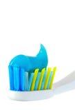 Spazzola dentale fotografie stock