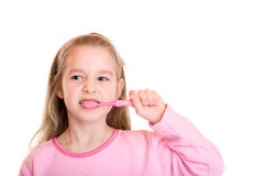 Spazzola dentale Fotografia Stock Libera da Diritti
