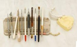 Spazzola dentaria fotografie stock libere da diritti