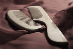Spazzola di capelli Fotografie Stock