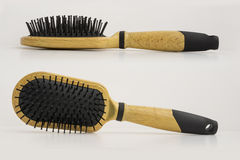 Spazzola di capelli Fotografia Stock