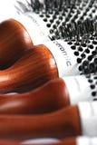 spazzola di capelli Fotografie Stock Libere da Diritti