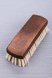 Spazzola di legno della scarpa Fotografie Stock Libere da Diritti