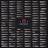111 spazzola di lerciume di vettore Immagine Stock Libera da Diritti