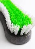 Spazzola di pulizia di sfregatura Fotografie Stock