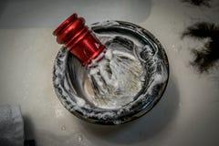 Spazzola di rasatura Fotografia Stock