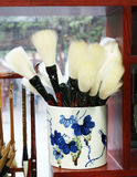 Spazzola di scrittura tradizionale cinese Fotografia Stock Libera da Diritti