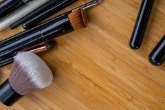 Spazzola per Make up ed i cosmetici Fotografia Stock