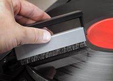 Spazzola record immagini stock libere da diritti