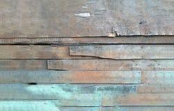 Spazzolato su struttura di legno con il modello naturale Concetto difficile Fotografie Stock Libere da Diritti