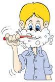 Spazzolatura di dente Royalty Illustrazione gratis