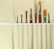 Spazzole artistiche Fotografia Stock Libera da Diritti