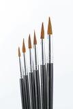 Spazzole artistiche di arti Fotografie Stock